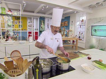 La clave de Karlos Arguiñano para hacer un buen arroz caldoso