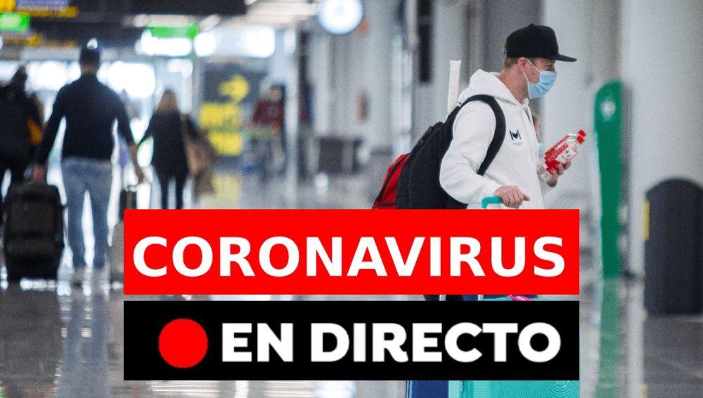 Última hora del coronavirus en España hoy en directo