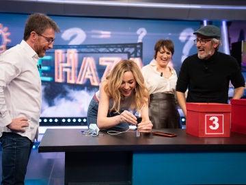 """Pablo Motos se quita el sombrero con las ideas de Marta Hazas: """"Me ha parecido sensacional"""""""