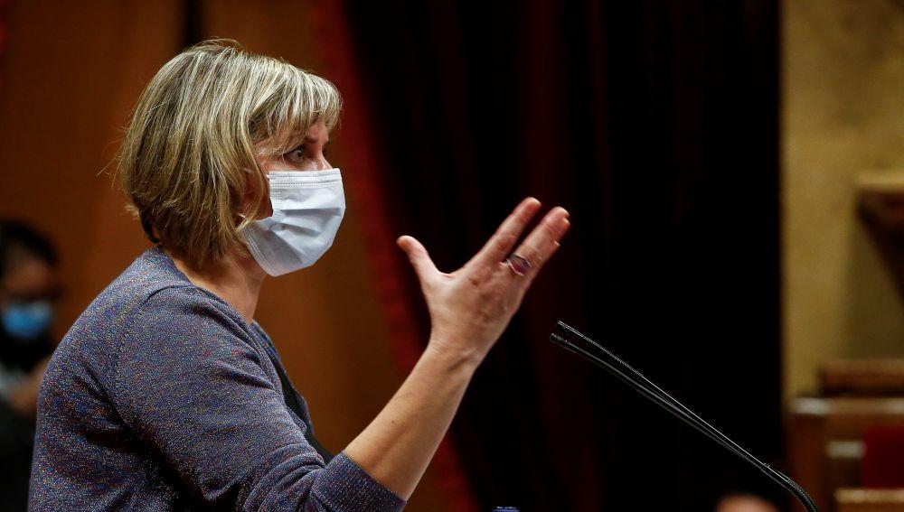 Alba Vergés, consejera de Sanidad de Cataluña