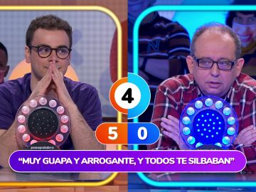 ¡Un duelo marcado por los rebotes! Yolanda se lo pone muy difícil a Javier y Pablo en 'La Pista'