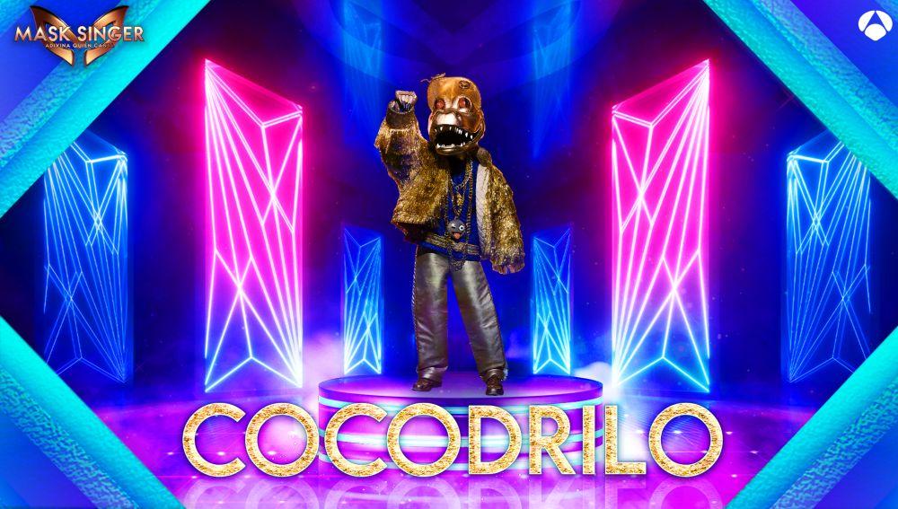 El Cocodrilo, nueva máscara confirmada para la segunda edición de 'Mask Singer'