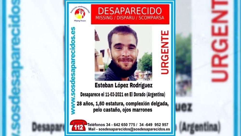 Desaparecido en Argentina.