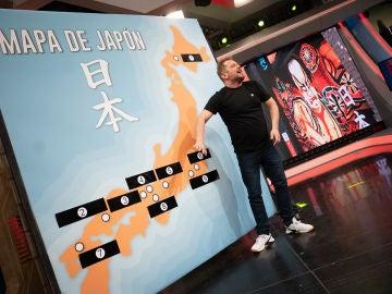 Pablo Motos pone a prueba la sinceridad de El Monaguillo: ¿sabe dónde está situado Tokio?