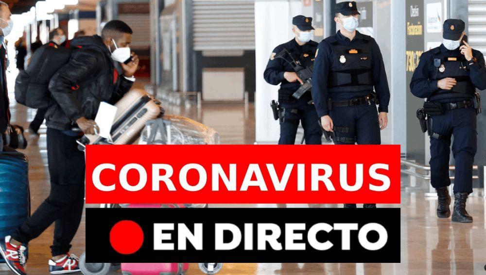 Coronavirus en directo hoy miércoles 24 de marzo