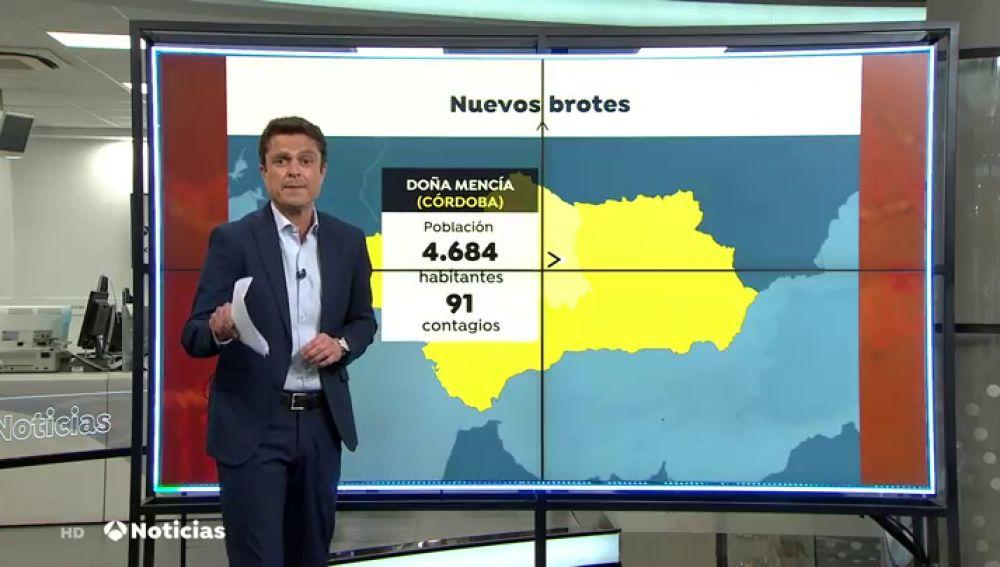 El alcalde de Doña Mencía (Córdoba), con un tasa coronavirus de 2.296,9 casos, pide el cierre perimetral de la localidad