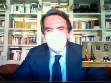 10 frases de José María Aznar en su declaración en el juicio de los papeles de Bárcenas