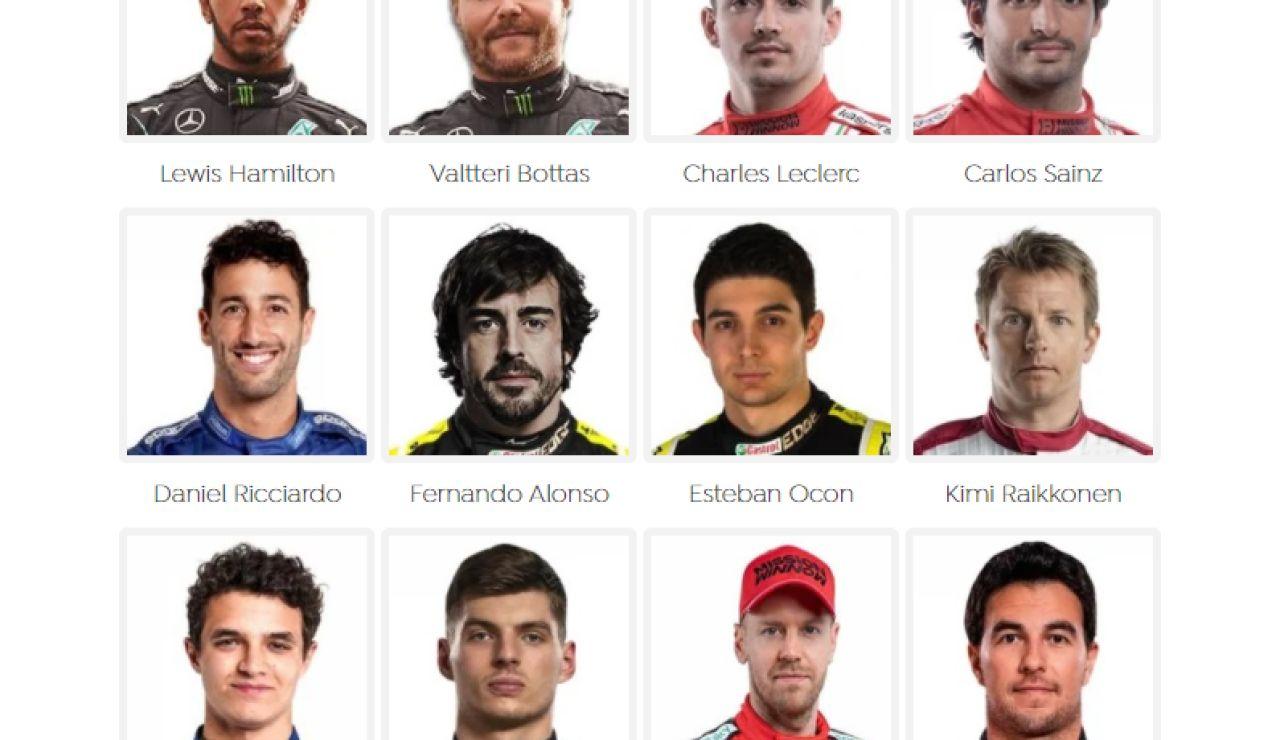 Encuesta ¿Quién ganará el Mundial de Fórmula 1 2021?