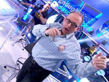 """Javier se lanza a bailar en 'La Pista' al ritmo de 'High Enough': """"¡Qué maravilla!"""""""