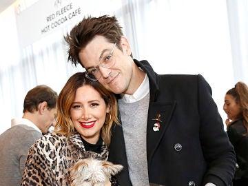 Ashley Tisdale y su marido Christopher French