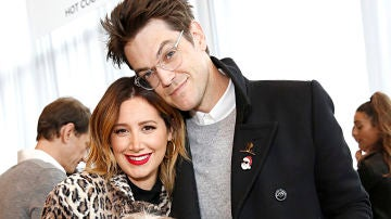 Ashley Tisdale y su marido Christopher French