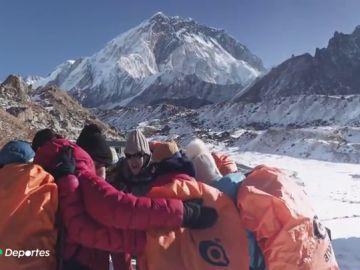 Juan, José y Jesús logran la hazaña en el Everest