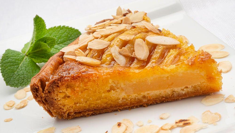 """""""La tarta perfecta para después de comer"""": de peras con franchipán"""