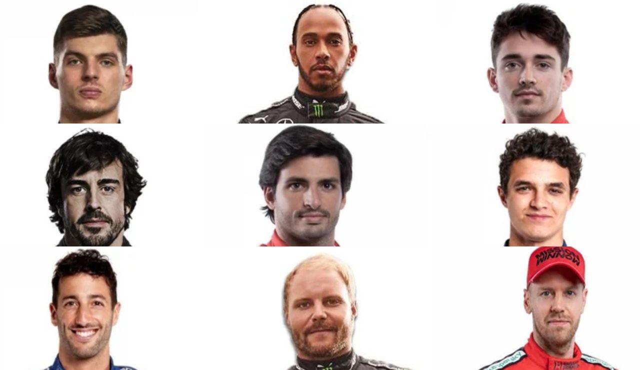 Posibles ganadores del Mundial de Fórmula 1