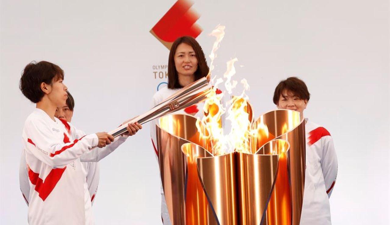 La antorcha de los Juegos Olímpicos de Tokio 2020 arranca su recorrido en Fukushima con un 'relevo burbuja'