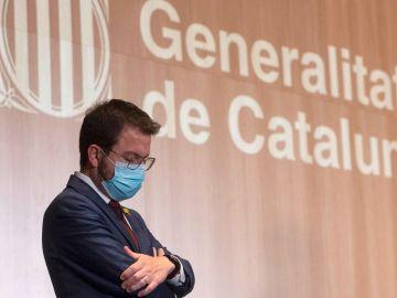 El candidato de ERC a la Generalitat, Pere Aragonès