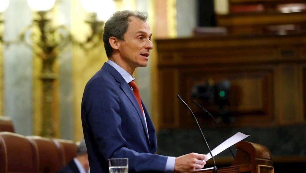 El ministro de Ciencia, Pedro Duque en el Congreso