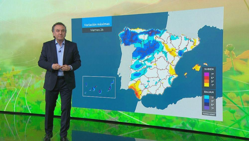 La previsión del tiempo hoy: Ascenso generalizado de temperaturas y ambiente suave