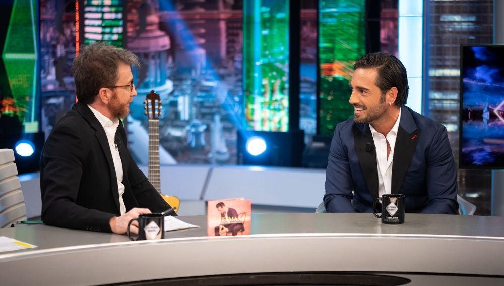"""David Bustamante se emociona al recordar a Àlex Casademunt en 'El Hormiguero 3.0': """"Era pura luz y una persona divertida"""""""