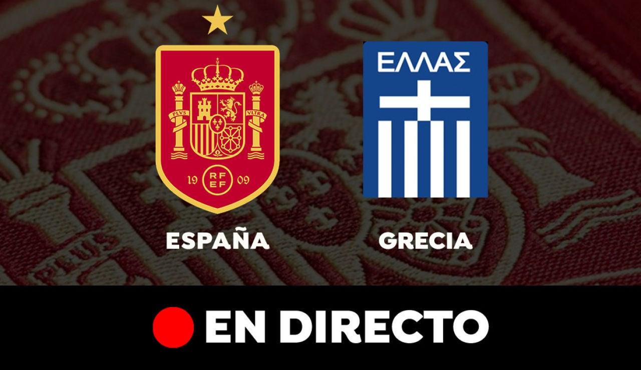 España - Grecia: Resultado y goles del partido de hoy, en directo | Clasificación para el Mundial de Qatar 2022