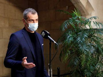 El PP anuncia el fichaje de Toni Cantó como independiente en la lista de Ayuso