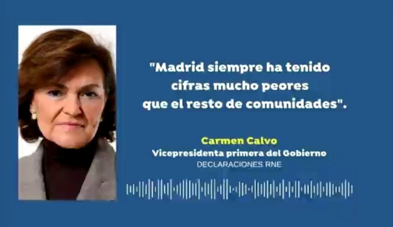 """El Gobierno critica a Isabel Díaz Ayuso por no """"tomar decisiones"""" ni incrementar las restricciones en Madrid"""