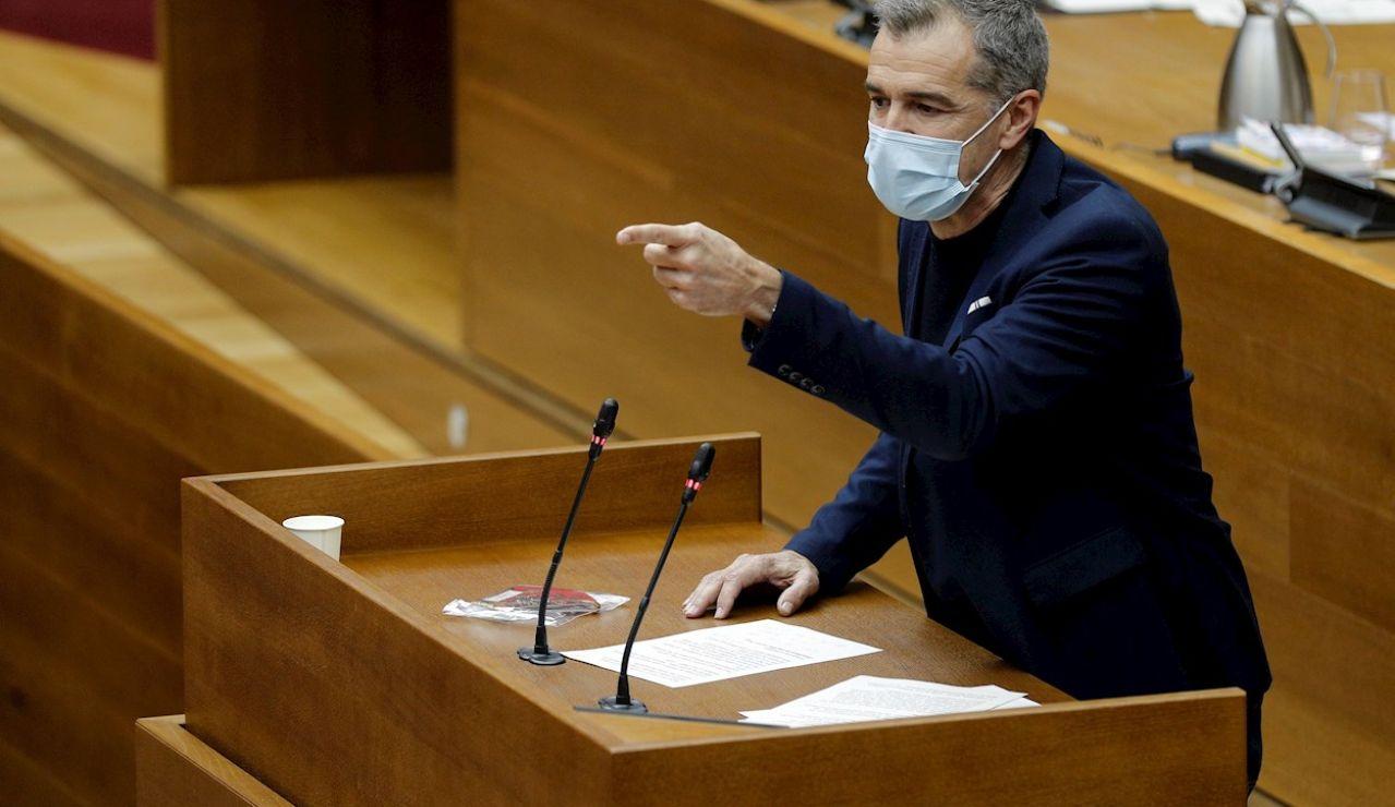 El exportavoz de Ciudadanos en las Cortes valencianas Toni Cantó, hoy número 5 en la lista de Ayuso para las elecciones de Madrid