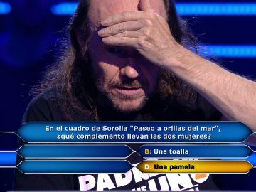 """El fracaso de Santiago Segura con el comodín de la llamada: """"Amiguete, vaya ayuda"""""""