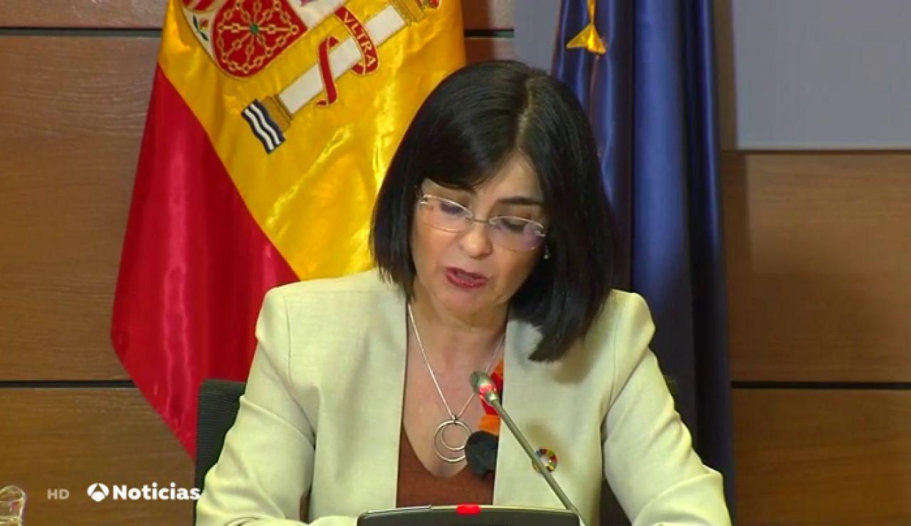 """Carolina Darias exige a Astrazeneca que cumpla con los plazos de entrega de las vacunas: """"Estaremos con máxima vigilancia"""""""