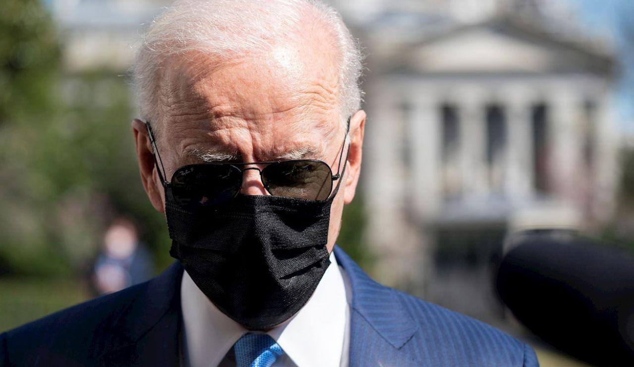 Joe Biden tras anunciar que ha invitado a Putiny a Xi a la cumbre sobre el clima