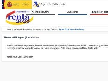 Renta web open