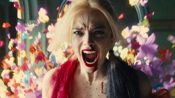 Margot Robbie en 'The Suicide Squad' como Harley Quinn