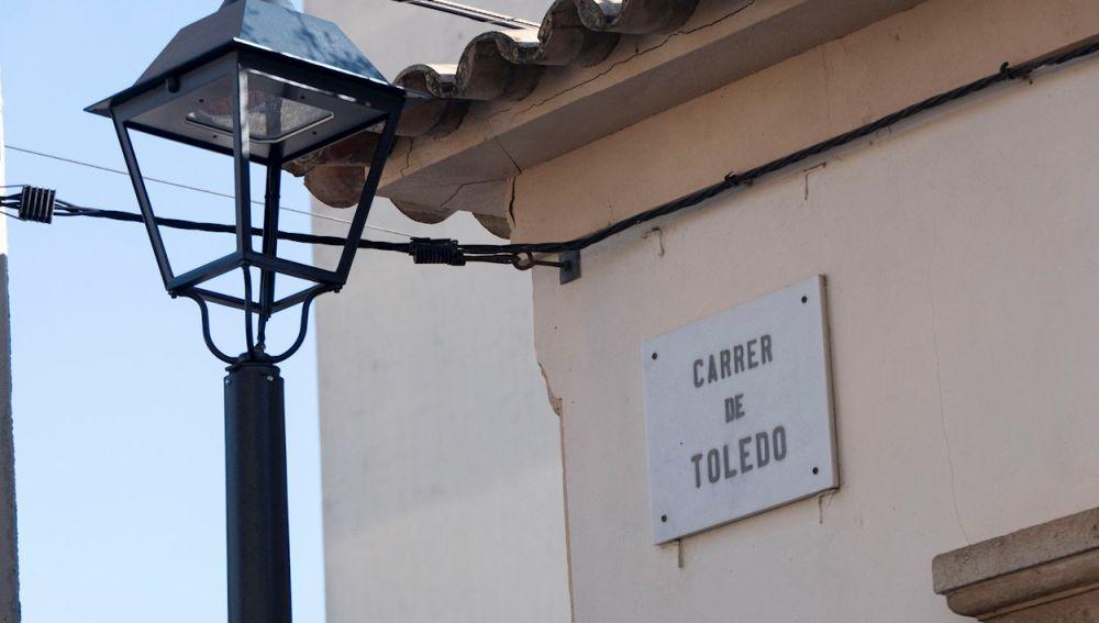 La calle Toledo, una de las vías que debía cambiar de nombre por considerarse franquista
