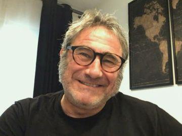 El actor Sergi López en una entrevista en Antena 3 Noticias