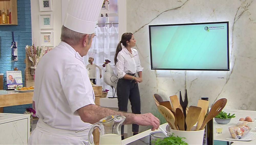 """Karlos Arguiñano: """"La receta más barata que hemos hecho esta semana"""""""