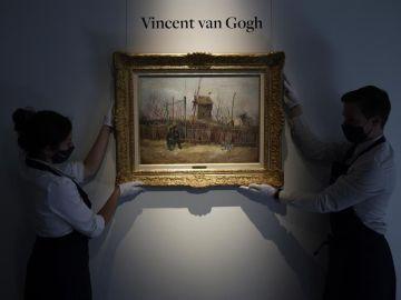 Subastado por 13 millones de euros un cuadro desconocido de Van Gogh en París