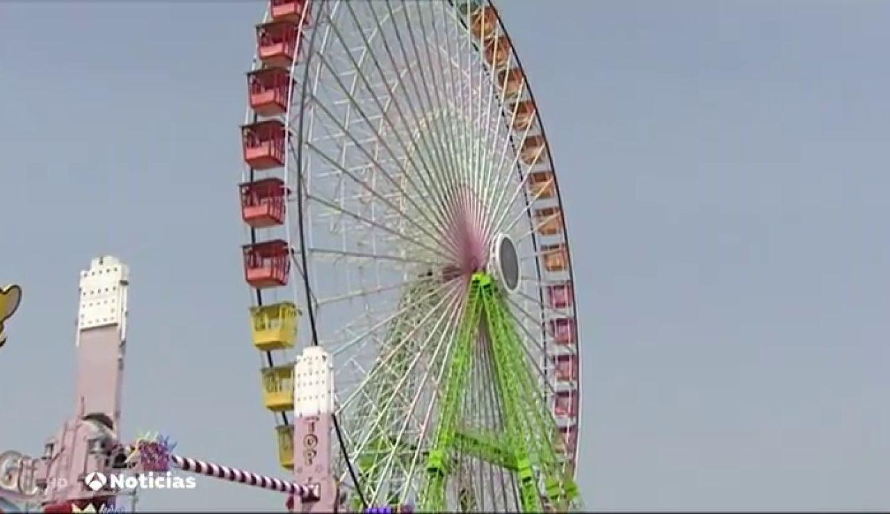 Abre Vive Park, un parque de atracciones situado en la calle del Infierno del recinto de la Feria de Abril