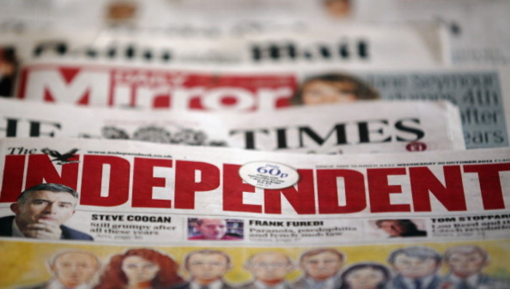 Efemérides de hoy 27 de marzo de 2021: The Independent
