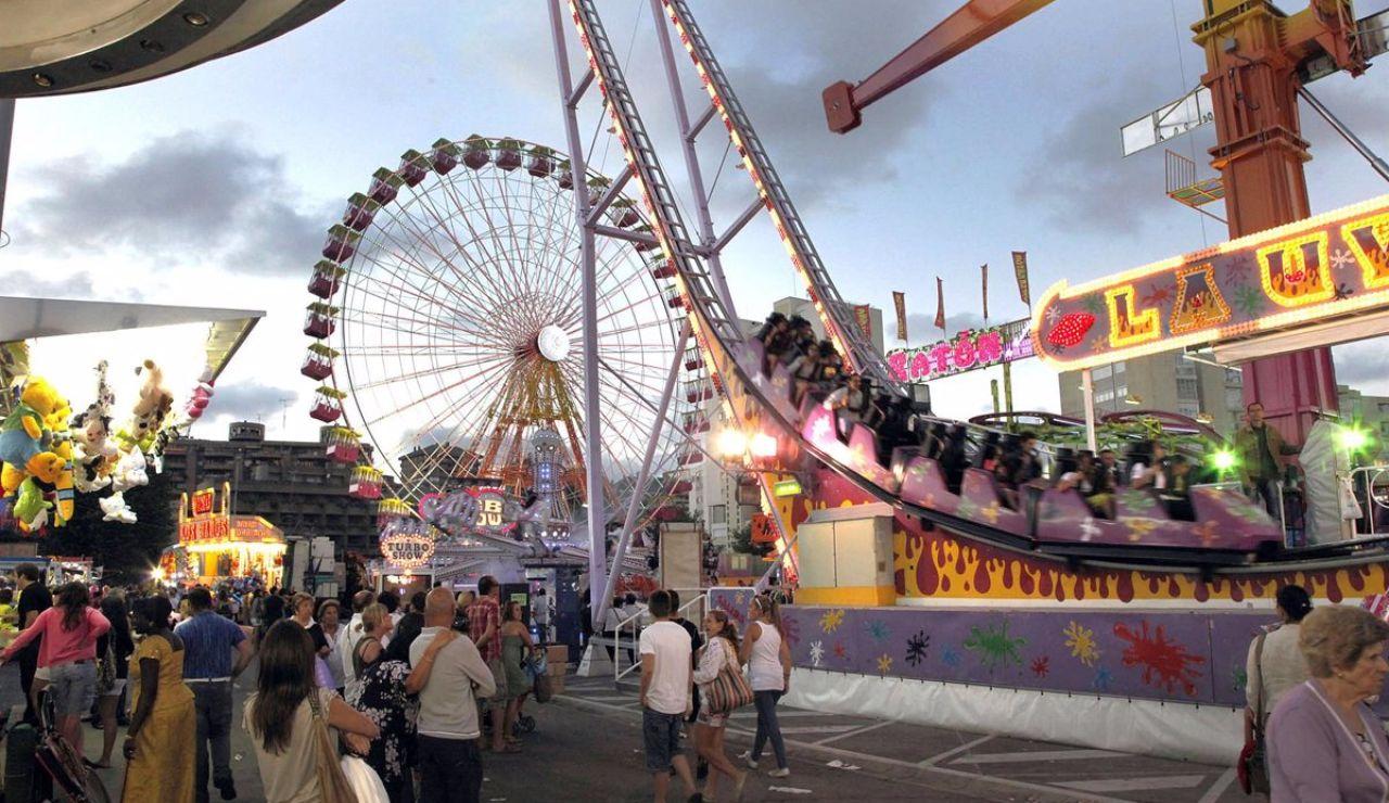 Abre Vive Park, un parque de atracciones situado en el recinto de la Feria de Abril