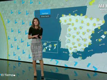 Este fin de semana casi media España disfrutará de más de 20 grados