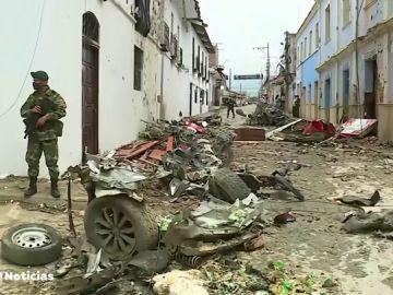 Mas de 40 heridos en Colombia por un atentado con coche bomba
