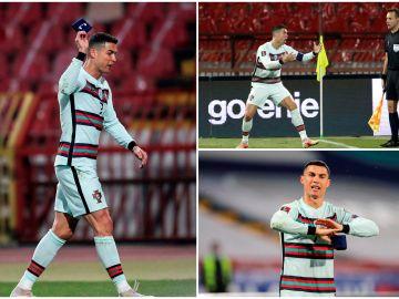 El tremendo enfado de Cristiano Ronaldo al no concederle un 'gol fantasma' en el 93'