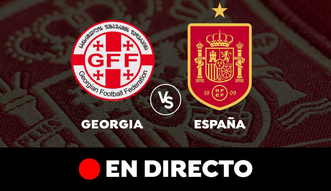 Georgia  - España: Resultado y goles del partido de hoy, en directo | Clasificación para el Mundial de Qatar 2022