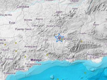 Se ha registrado un terremoto en Granada