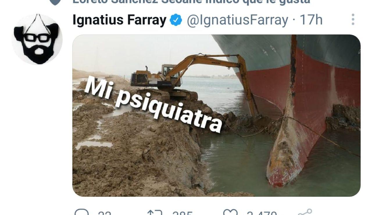 Los mejores memes sobre el Ever Given, el carguero atrapado en el Canal de Suez