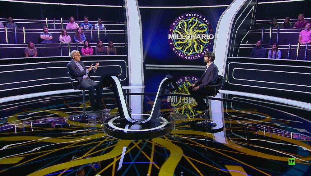 Xavier Sardà, Loles León y Lucía Etxebarria, dispuestos a todo en '¿Quién quiere ser millonario?'