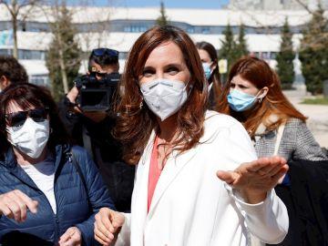 Mónica García, candidata de Más Madrid a las elecciones de Madrid