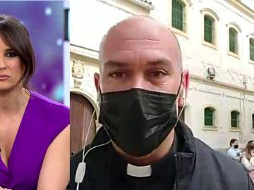 Carlos Redondo, párroco que pidió ayuda para las monjas de Jerez de la Frontera