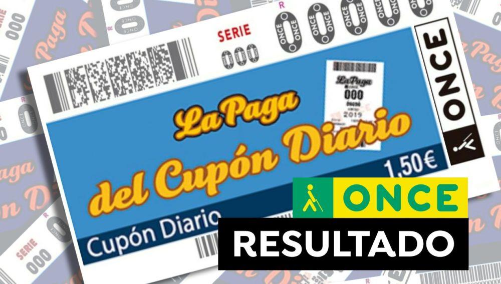 Sorteos ONCE: Comprobar Cupón Diario y Super Once hoy en directo