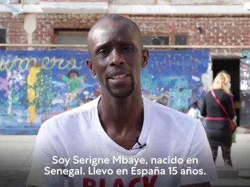 Pablo Iglesias incluye en sus listas para las elecciones en Madrid a Serigne Mbaye, del Sindicato de Manteros